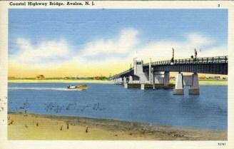 Coastal Highway Bridge, Avalon, NJ 1956
