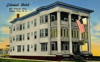 Colonial Hotel, 831 Atlantic Avenue, Ocean City, NJ