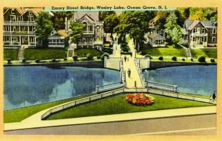 Emory Street Bridge, Wesley Lake, Ocean Grove, NJ