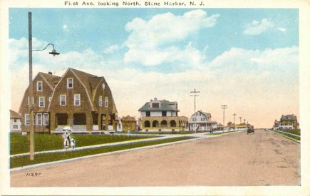 First Ave. Looking North, Stone Harbor, NJ