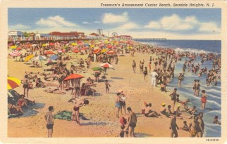 Freeman's Amusement Center Beach, Seaside Heights, NJ