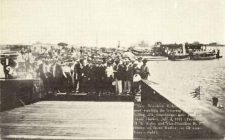 Gov. Woodrow Wilson 1911, Stone Harbor, N
