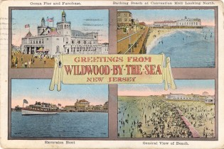 Greetings from Wildwood-by-the-Sea, NJ 1932
