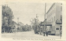 High Street, Looking South from Broad Street, Burlington, NJ