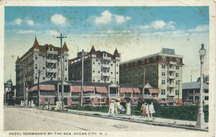 Hotel Normandie, Ocean City,. NJ JUL 25, 1918