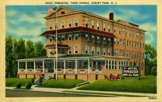 Hotel Powatan, 3rd Ave., Asbury Park, NJ