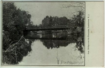 Iron Bridge Over the Rancocas, Lumberton, NJ