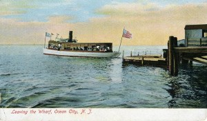 Leaving the Wharf, Ocean City, NJ