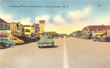 Looking West on 96th Street, Stone Harbor, NJ