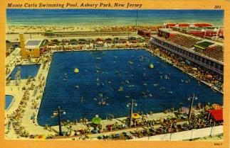 Monte Carlo Swimming Pool. Asbury Park, NJ