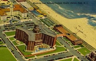 Monterey and Berkeley Carteret Hotels, Asbury Park, NJ