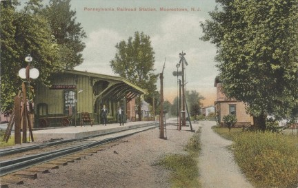 Pennsylvania, Railroad Station, Moorestown, NJ