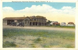 Pennsylvania Railroad Station, Stone Harbor, NJ