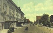 Philadelphia Opera House and Broad Street, Philadelphia, PA