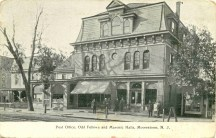 Post Office, Odd Fellows, and Masonic Halls, Moorestown, NJ