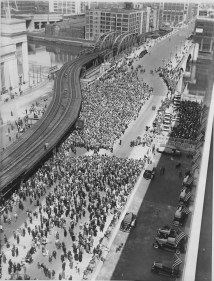 Postmaster General James A. Farley dedicates the new $7,000,000 post office, Phila., May 25, 1935.