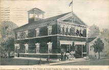 Proposed New Fire House of Relief Engine Co.