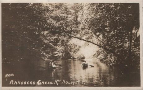 Rancocas Creek, Mt. Holly, NJ 1927