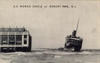 SS Morro Castle at Asbury Park, NJ