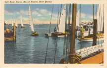 Sailboat Races, Beach Haven, NJ 1952