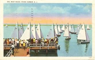 Sailboat Races, Stone Harbor, NJ