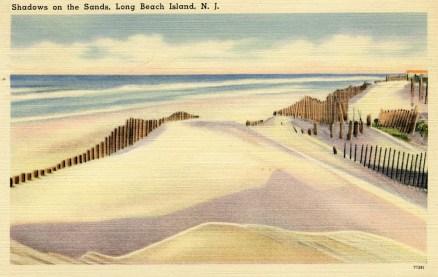 Shadows on the Sands, Long Beach Island, NJ 1952