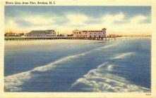 Shorelne from Pier, Avalon, NJ