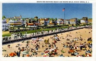 South End Bathing Beach and Boardwalk, Ocean Grove, NJ