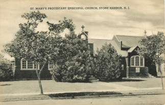 St. Mary's Protestant Episcopal Church, Stone Harbor, N.J, c1940-early 1950s
