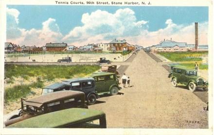 Tennis Courts, 96th Street, Stone Harbor, NJ