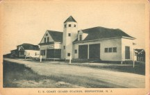 US Coast Guard Station, Ship Bottom, NJ 1932