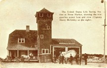 US Life Saving Station at Stone Harbor, NJ