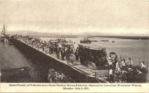 Vehicle Parade Over Ocean Parkway 1911, Stone Harbor, NJ