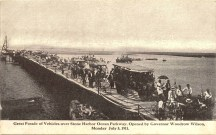 Vehicle Parade Over Ocean Parkway 1911, Stone Harbor, NJ