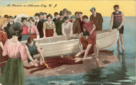 A Rescue at Atlantic City, NJ 1907