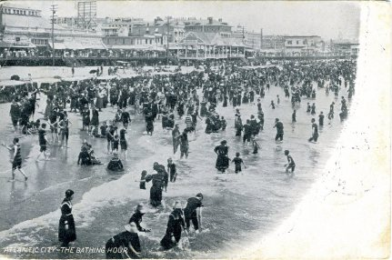 Atlantic City, The Bathing Hour 1906