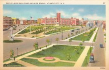 Chelsea Park Boulevard and High School, Atlantic City, NJ