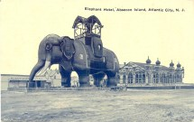 Elephant Hotel, Absecon Island, Atlantic City, NJ