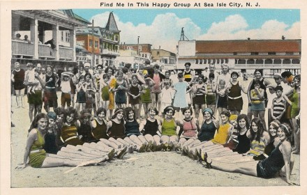 Find Me in this Happy Group at Sea Isle City, NJ
