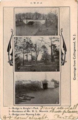 Greetings from Collingswood, NJ 1907