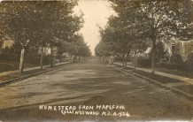 Homestead from Maple Avenue, Collingswood, NJ A-504