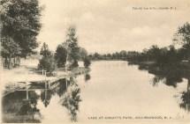 Lake at Knight's Park, Collingswood, NJ