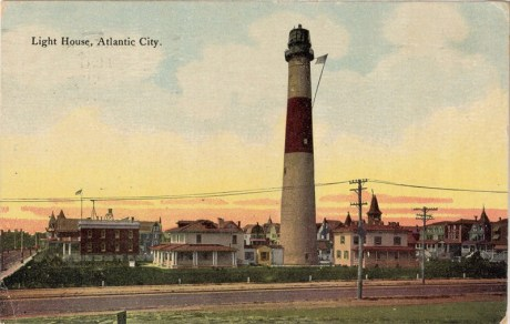 Light House, Atlantic City, NJ 1910