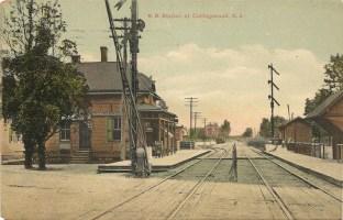 R.R. Station at Collingswood, NJ