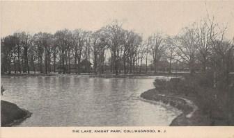 The Lake, Knight Park, Collingswood, NJ