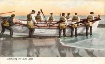 USLSS Launching the Life Boat