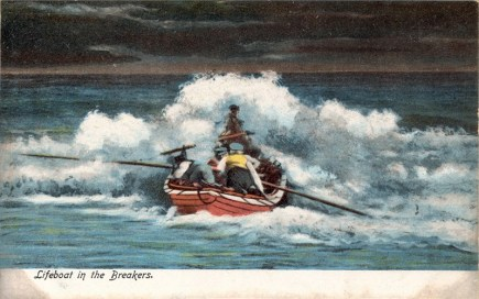 USLSS Lifeboat in the Breakers