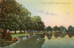 View at Knight's Park, Camden, NJ