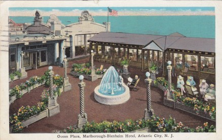 Ocean Plaza, Marlborough-Blenheim Hotel, Atlantic City, NJ