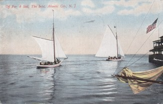 Off for a sail, The Inlet, Atlantic City, NJ